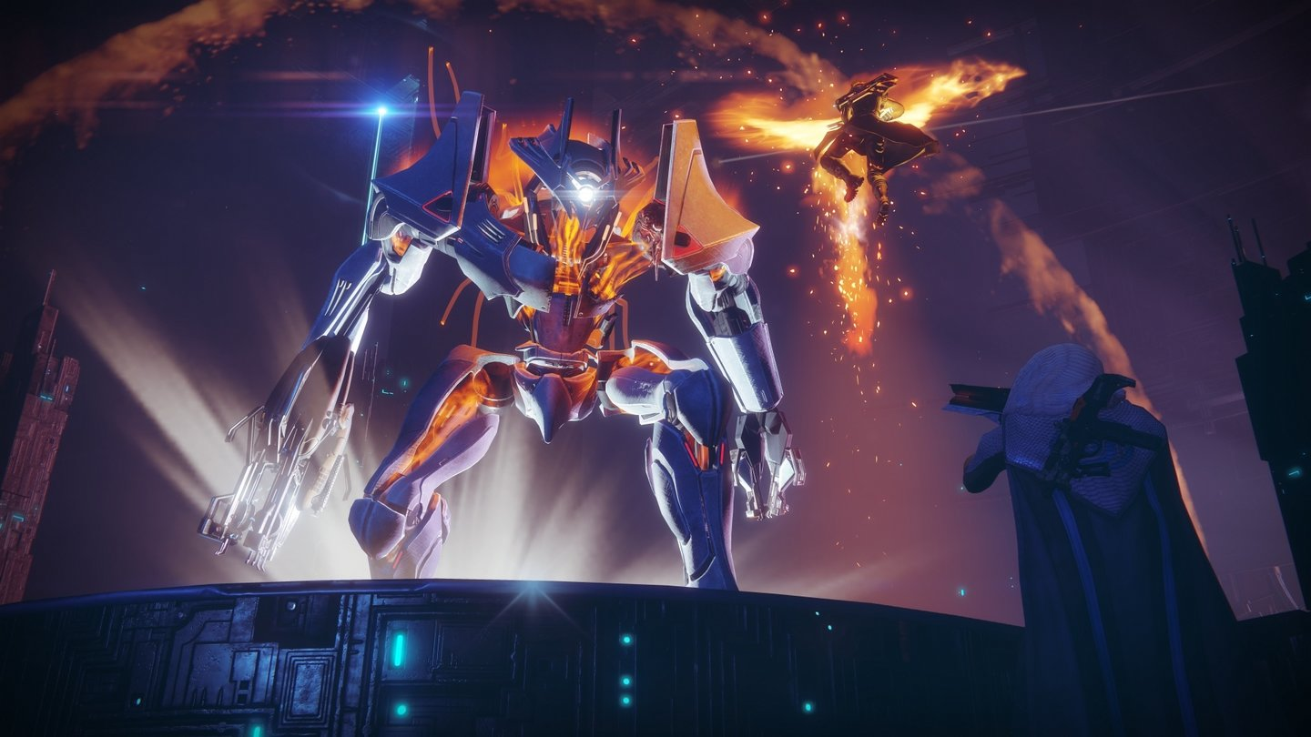 Destiny 2Screenshot aus einer Strike-Mission