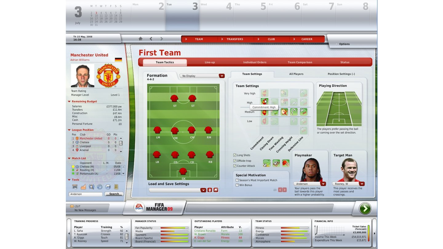 FUSSBALL MANAGER 09_3