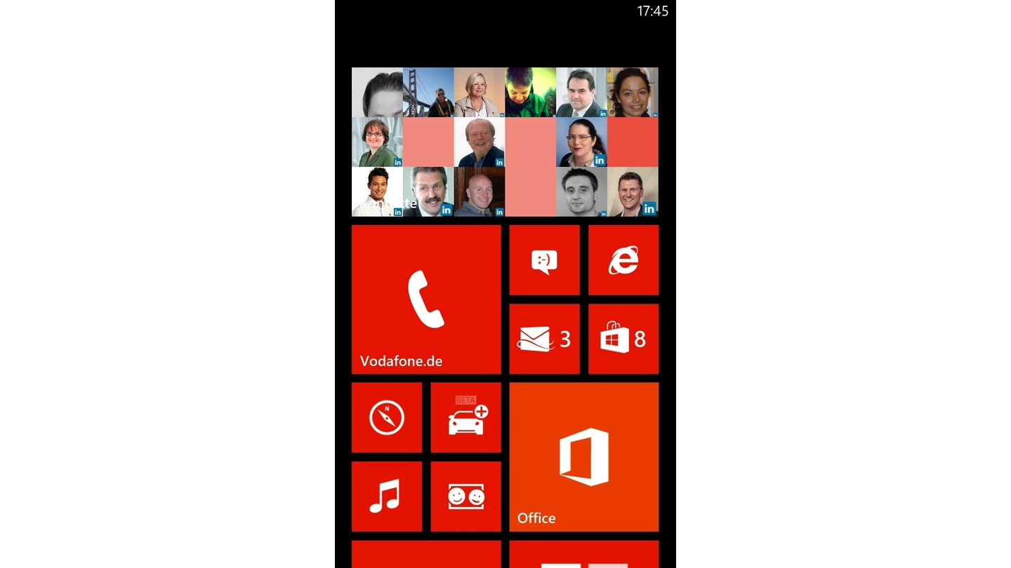 Windows Phone 8 auf Nokia Lumia 920