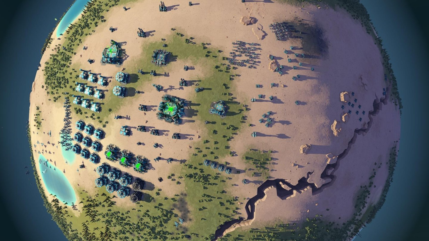 Planetary Annihilation - Beta-Screenshots