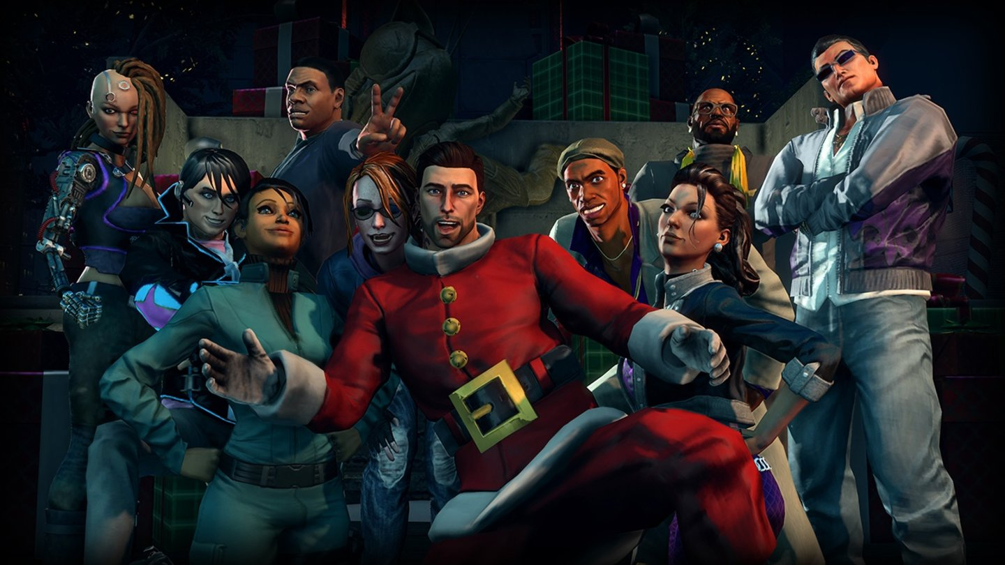 Saints Row 4Screenshot aus dem DLC »How the Saints Save Christmas«