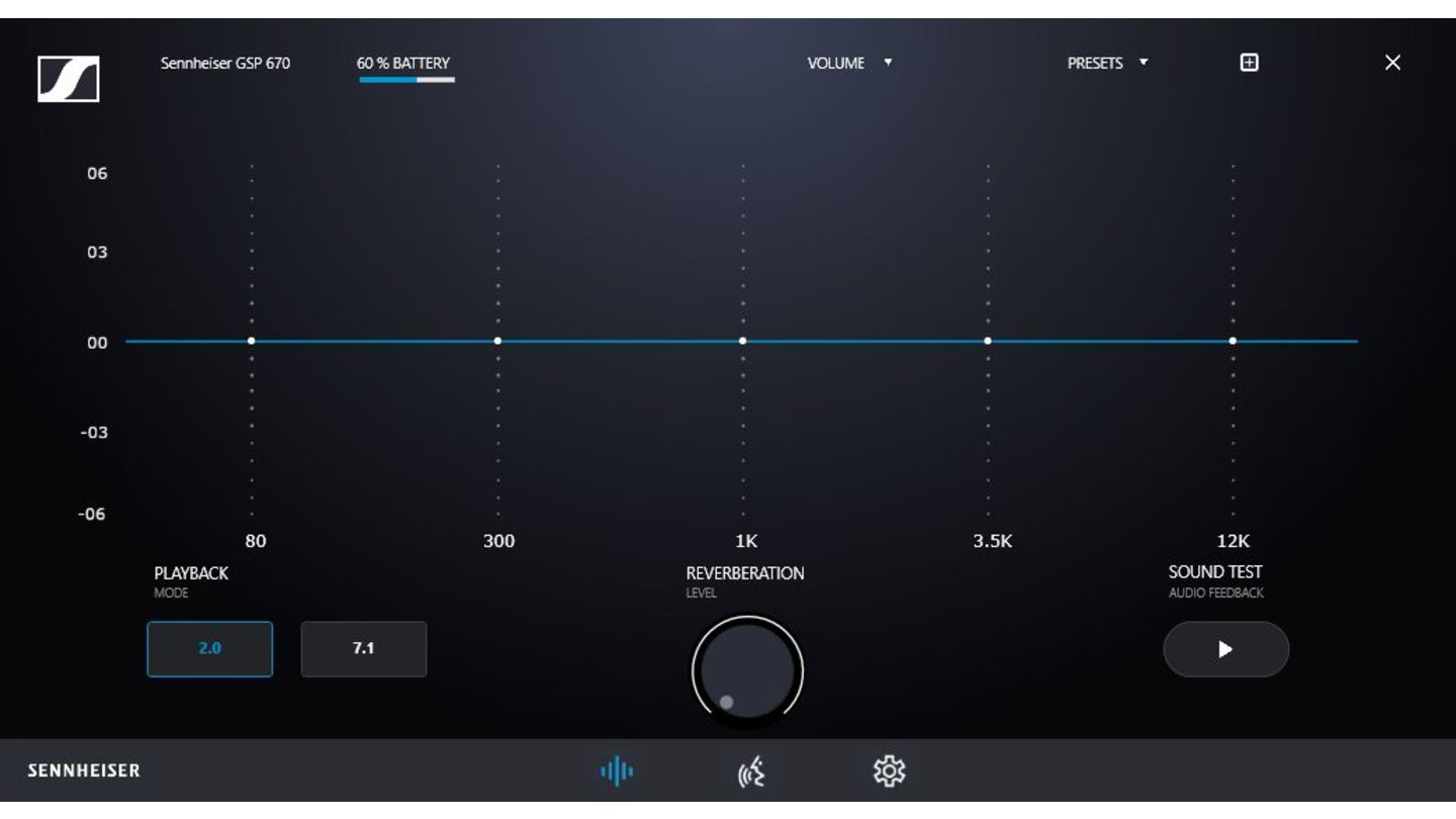 Sennheiser GSP 670 Software Equalizer