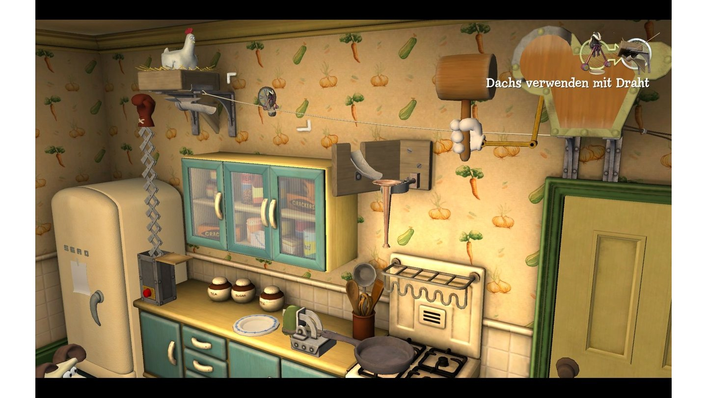 Wallace & Gromit: Fright of the Bumble Bees - Bilder aus der Testversion