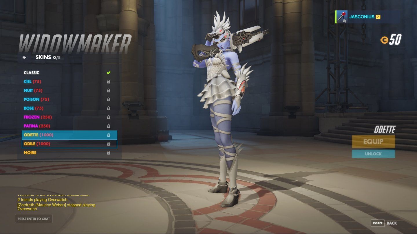 Widowmaker - Odette