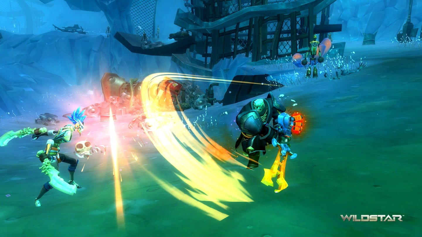 Wildstar - Screenshots zur Stalker-Klasse