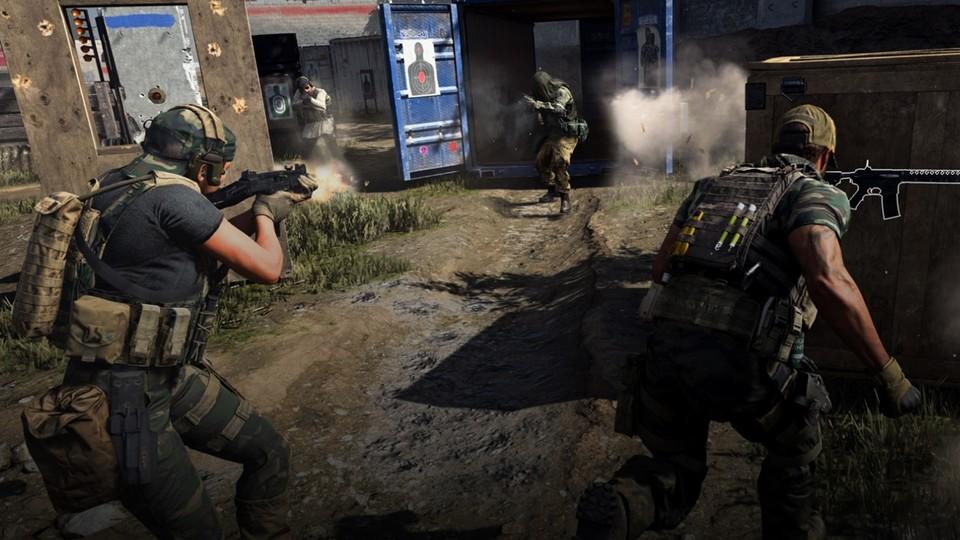 Kurze und intensive Runden ohne Respawn sind das Markenzeichen von Gunfight.