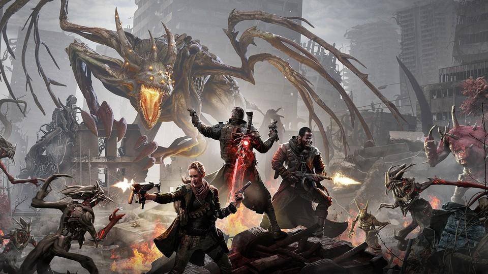 In Remnant: From the Ashes beherrschen fiese Monster die Überreste der Erde, aber zwischen den Ruinen regt sich Widerstand.