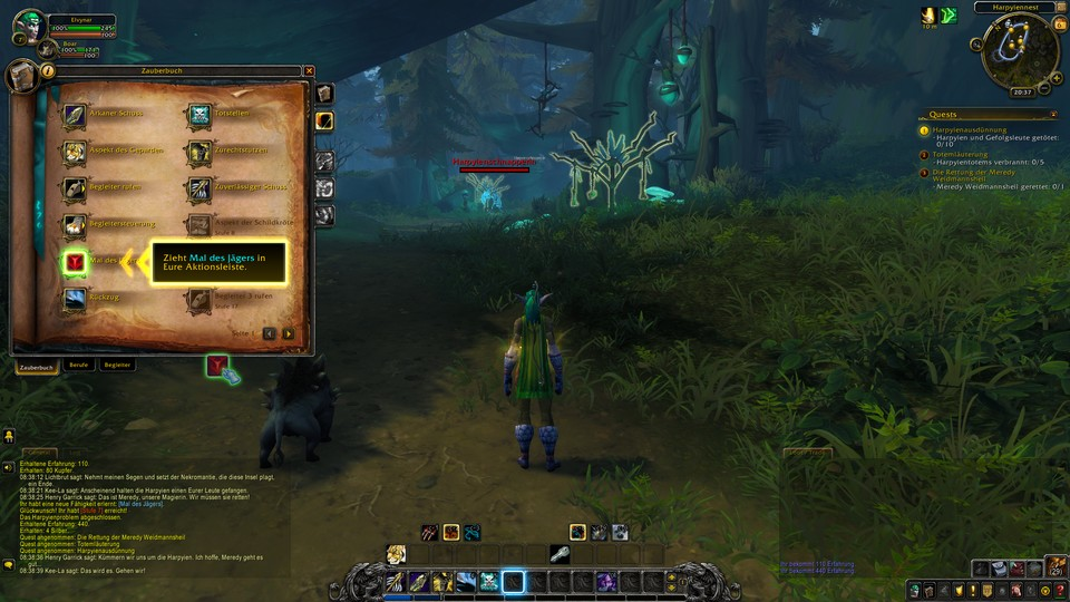 In World of Warcraft: Shadowlands sind Tastenbelegungen nahezu unverzichtbar.