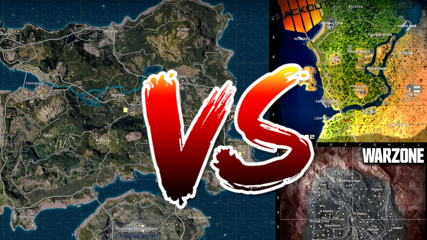 Cod Warzone Much Smaller Than Expected Amazing Map Comparison