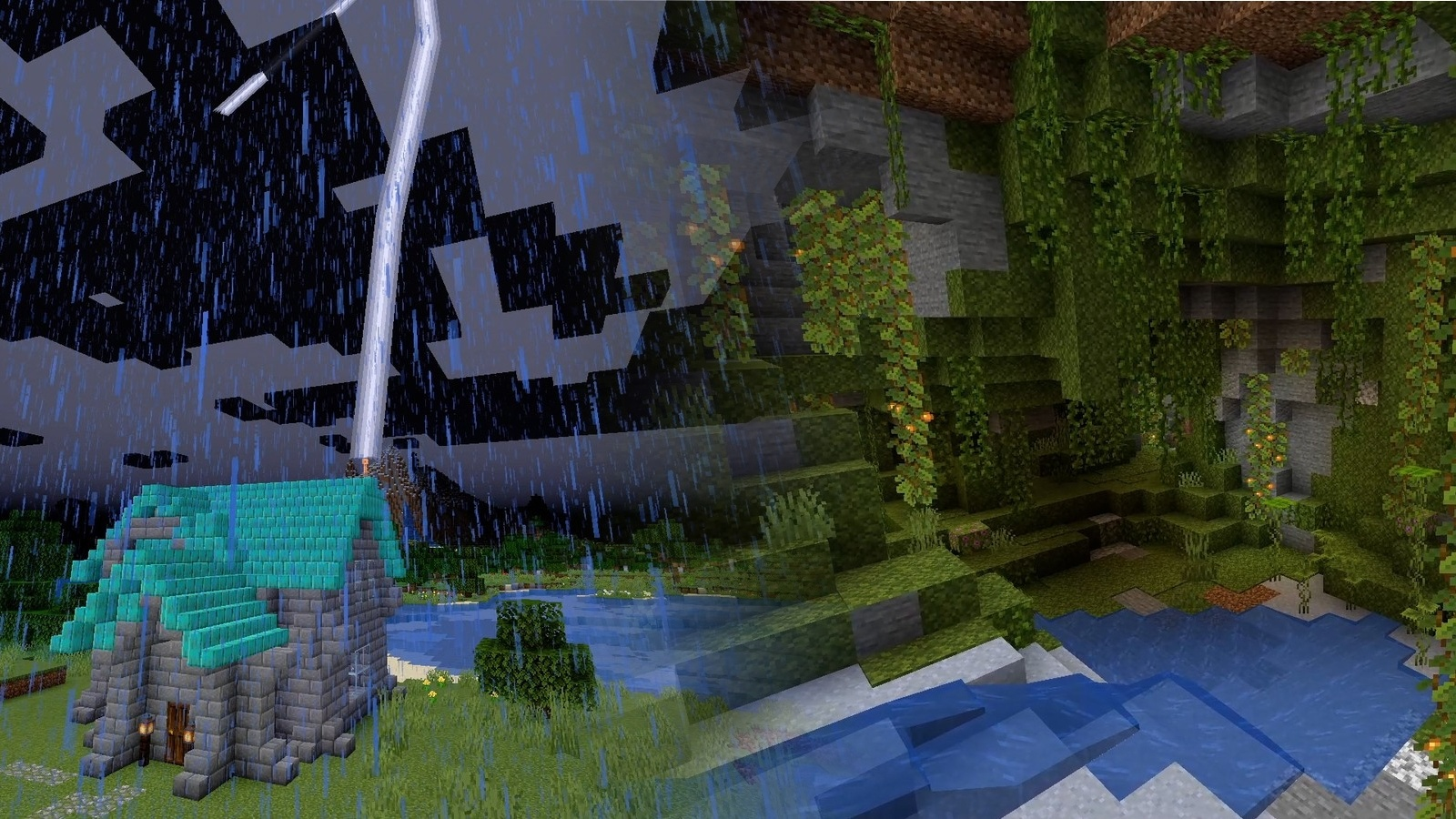 Minecraft - 11 kommen beeindruckende Höhlen und süße Axolotls
