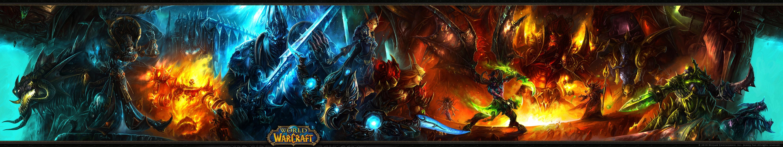 World Of Warcraft Triple Und Dual Screen Wallpaper Zu Wow Gamestar
