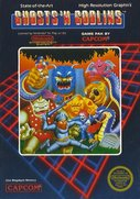 Cover zu Ghosts 'N Goblins - NES