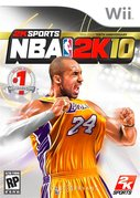 Cover zu NBA 2K10 - Wii