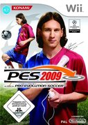 Cover zu Pro Evolution Soccer 2009 - Wii