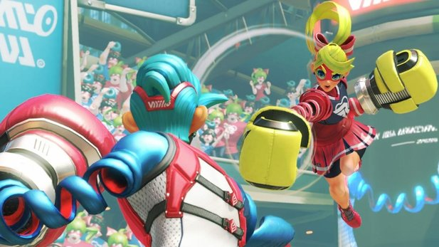Arms ist in Japan ein Hit.