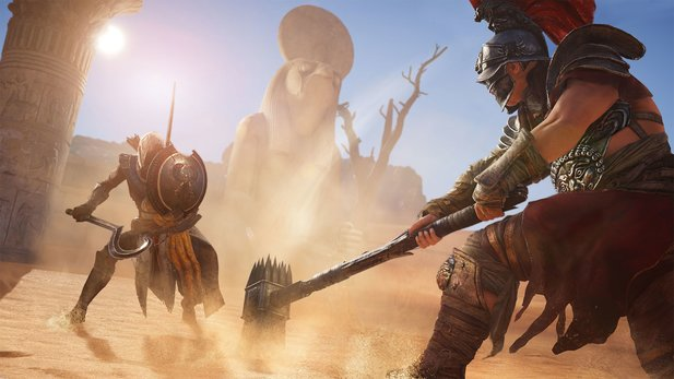Assassin's Creed: Origins ohne Kämpfe - funktioniert das?