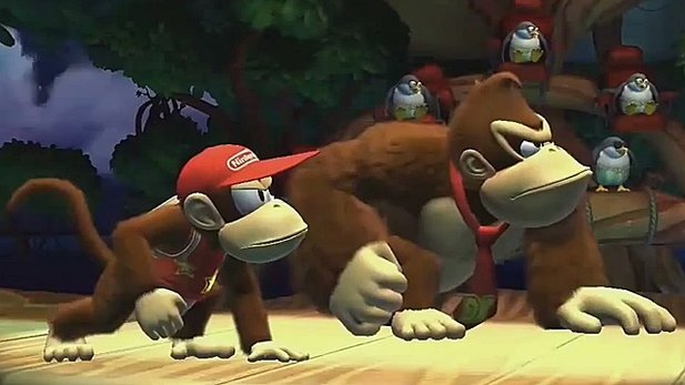 Donkey Kong Country: Tropical Freeze - Ankündigungs-Trailer zum Wii-U-Jump&Run
