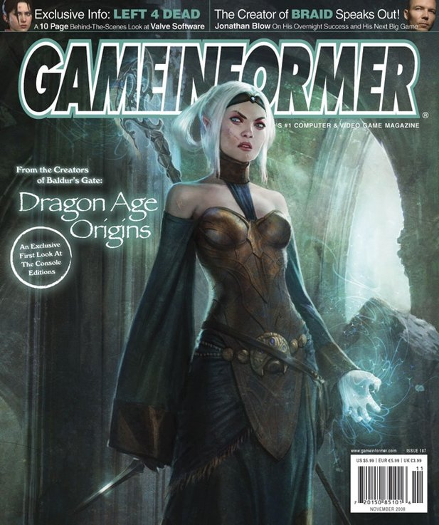 Das GameInformer-Cover