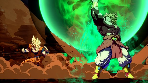 Broly in Dragon Ball FighterZ