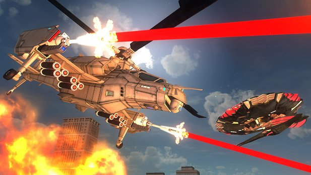 Earth Defense Force 5 im Test für PS4.