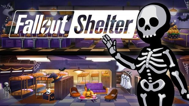 Ab jetzt herrscht auch in Fallout Shelter Halloween-Atmosphäre.