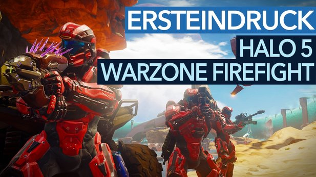 Halo 5 - Ersteindruck-Video zum Warzone-Firefight-Modus