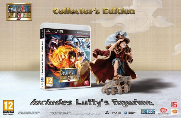 Die Collector's Edition von One Piece: Pirate Warriors.