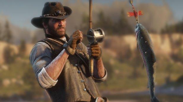 Es dauerte ein Jahr, aber jetzt wurde der legendäre Wels endlich in Red Dead Redemption 2 gefunden.