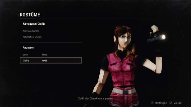 Resident Evil 2 Remake - Claire 1998