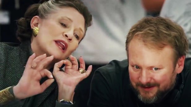 Star Wars: Die letzten Jedi - Neues Behind-the-Scenes-Video mit Mark Hamill und Carrie Fisher