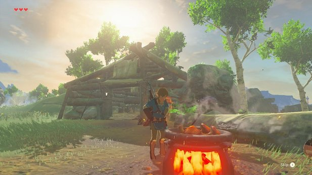 Kochen ist wichtig in The Legend of Zelda - Breath of the Wild