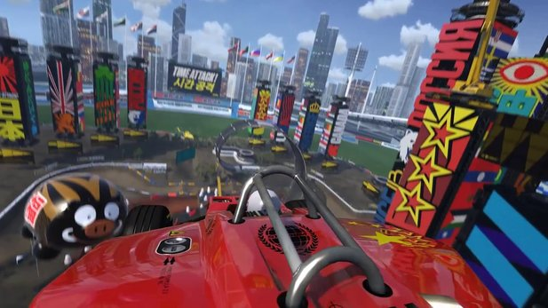 Trackmania Turbo - Kommentierter Gameplay-Trailer des Funracers