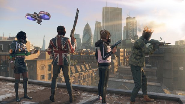 Watch Dogs Legion kommt mit Koop-Modus.