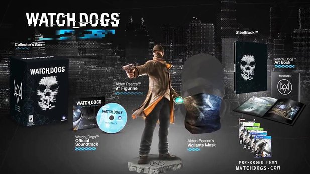 Watch Dogs - Offizielles Unboxing der Limitied Edition