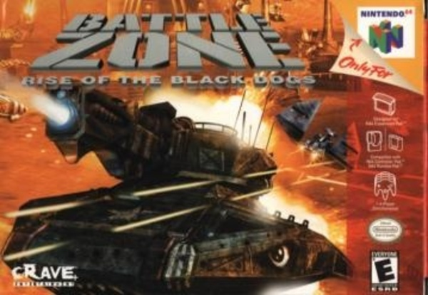 Cover zu Battlezone: Rise of the Black Dogs