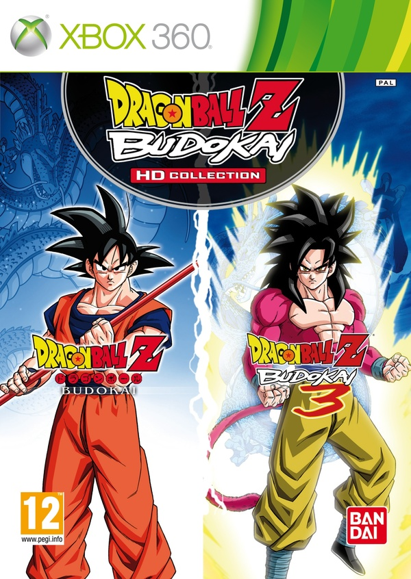 Cover zu Dragon Ball Z: Budokai HD Collection