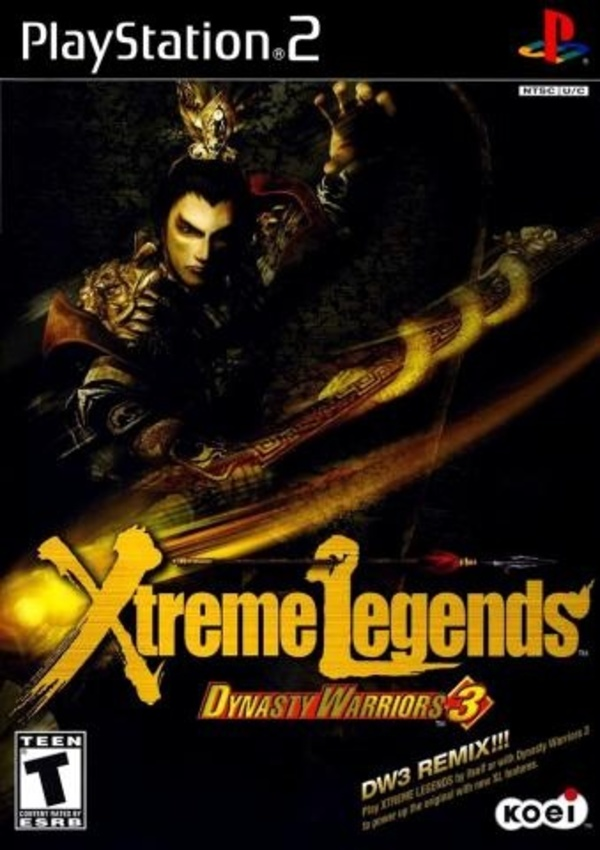 Cover zu Dynasty Warriors 3: Xtreme Legends