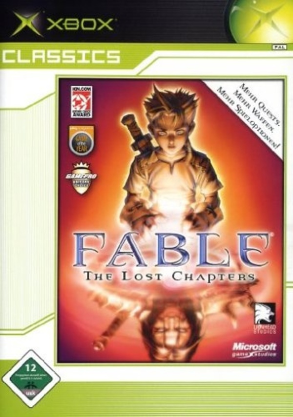 Cover zu Fable: The Lost Chapters