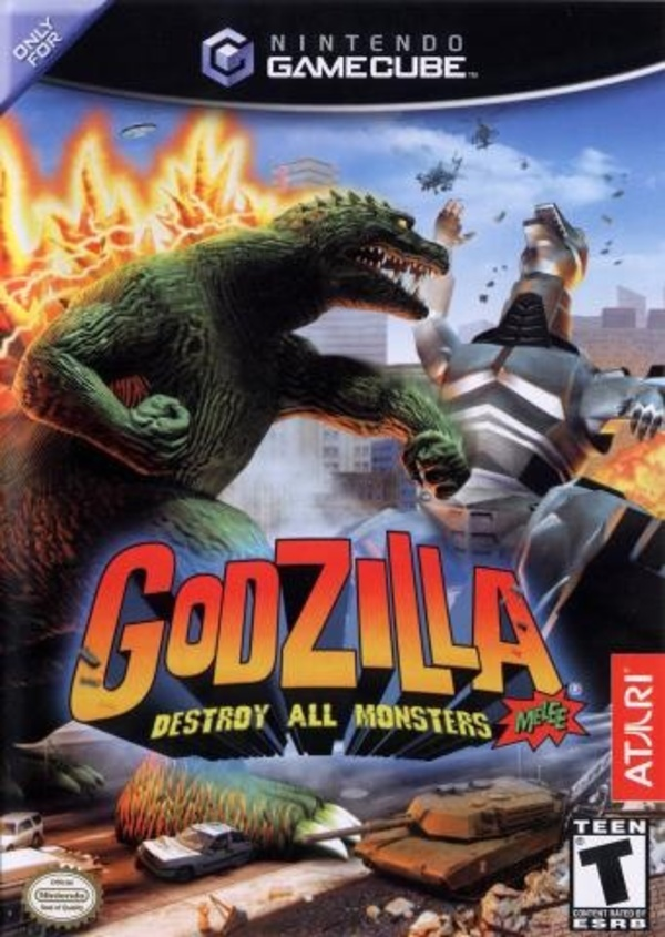 Cover zu Godzilla: Destroy All Monsters Melee