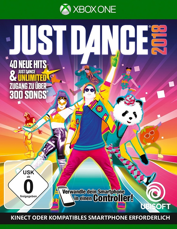 Cover zu Just Dance 2018