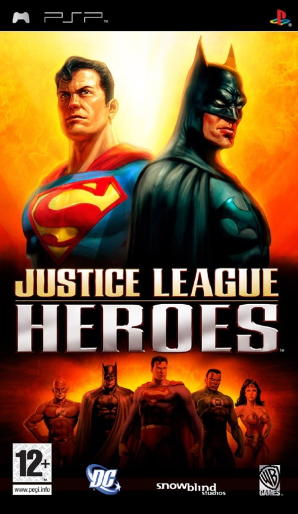 Cover zu Justice League Heroes