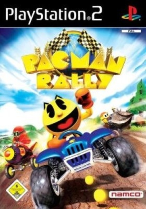 Cover zu Pac-Man Rally
