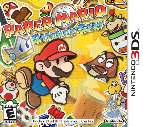 Cover zu Paper Mario: Sticker Star