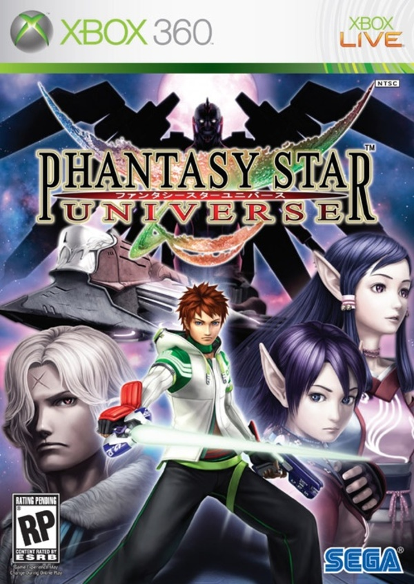 Cover zu Phantasy Star Universe