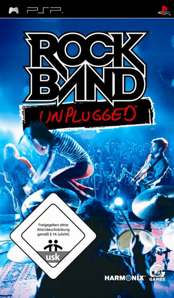 Cover zu Rock Band Unplugged
