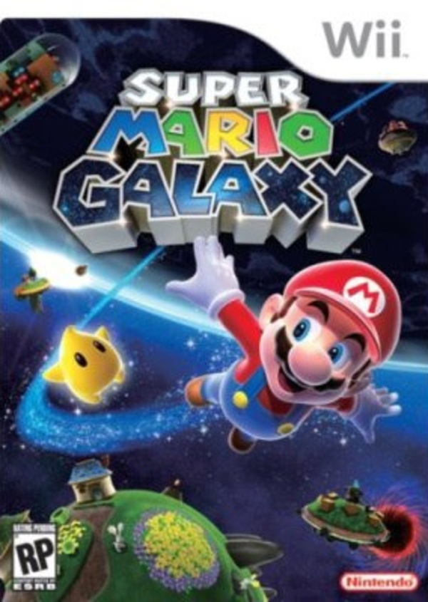 Cover zu Super Mario Galaxy
