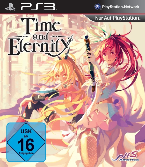 Cover zu Time and Eternity