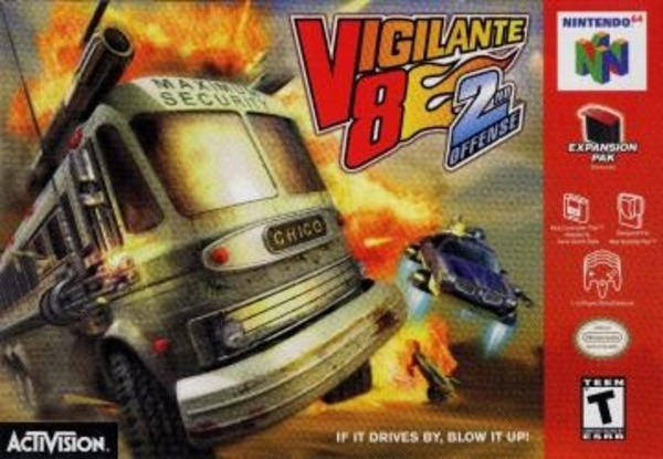 Cover zu Vigilante 8: Second Offense