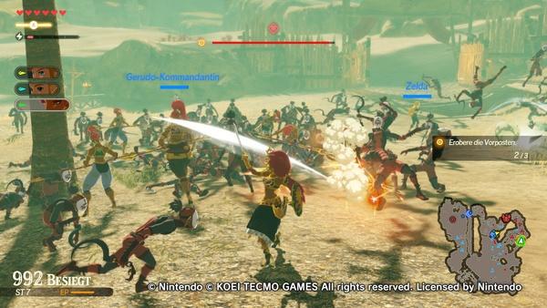 Hyrule Warriors Zeit Der Verheerung Im Test Rucklige Massenschlacht