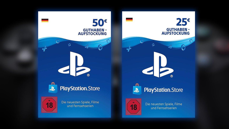 Playstation Karte Aufladen.Psn Guthaben 25 Fur 19 85 Und 50 Fur 40 33 Deals Auf